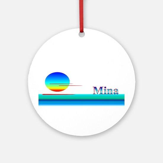 Mina Ornament (Round)