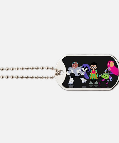 Teen Titans Dog Tags