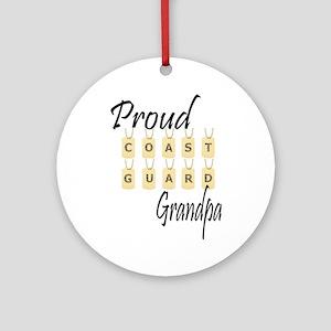 CG Grandpa Ornament (Round)