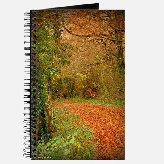 Red Fox on the Golden Path Journal
