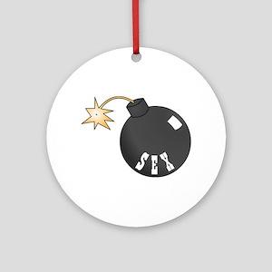 Sex Bomb Ornament (Round)