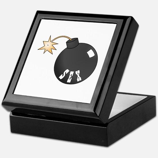 Sex Bomb Keepsake Box