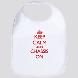 Keep Calm and Chassis ON Bib