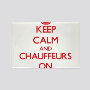 Keep Calm and Chauffeurs ON Magnets