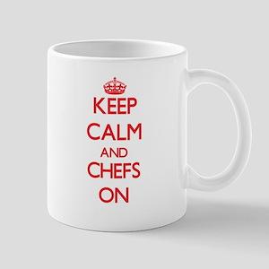 Keep Calm and Chefs ON Mugs