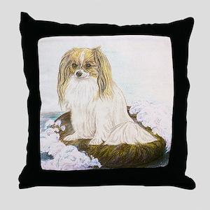Phalene mermaid Throw Pillow