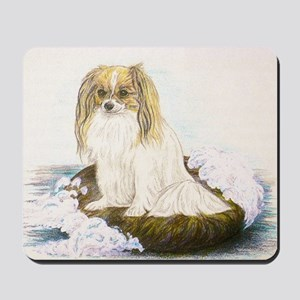 Phalene mermaid Mousepad
