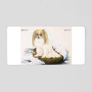 Phalene mermaid Aluminum License Plate