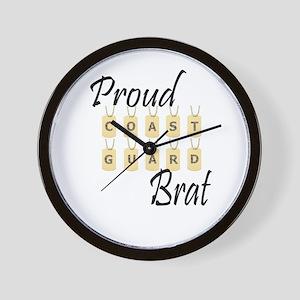 CG Brat Wall Clock