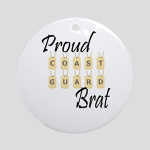 CG Brat Ornament (Round)