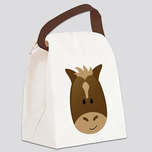 Horse Canvas Lunch Bag