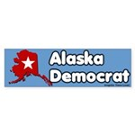 Alaska Democrat Bumper Sticker