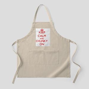 Keep Calm and Chunky ON Apron