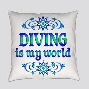 Diving is my World Everyday Pillow