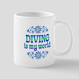 Diving is my World Mug