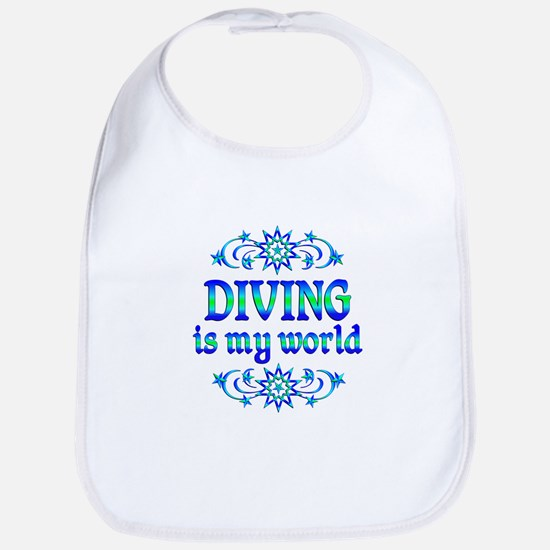 Diving is my World Bib