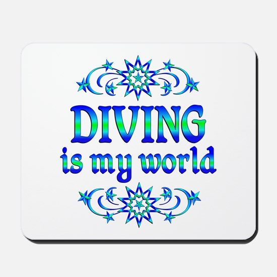 Diving is my World Mousepad
