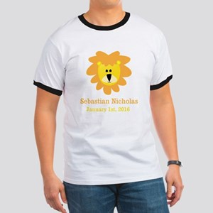 CUSTOM Lion w/Baby Name and Birth Date T-Shirt