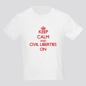 Keep Calm and Civil Liberties ON T-Shirt
