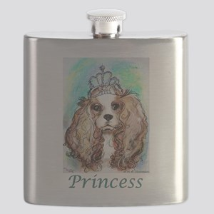 Princess! Puppy, dog, art! Flask