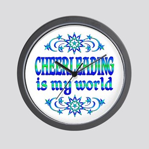 Cheerleading is my World Wall Clock