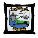 USS HUNLEY Throw Pillow