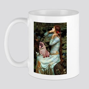 Ophelia / Fawn Pug Mug