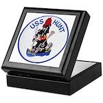 USS HUNT Keepsake Box
