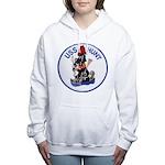 USS HUNT Women's Hooded Sweatshirt
