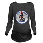USS HUNT Long Sleeve Maternity T-Shirt