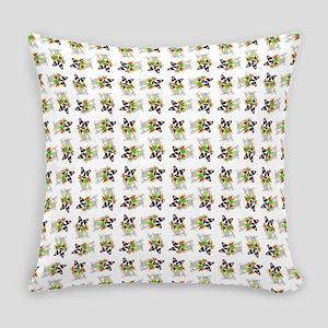 MARDI GRAS DOG Everyday Pillow