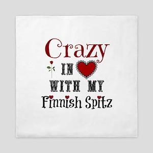 Finnish Spitz Queen Duvet