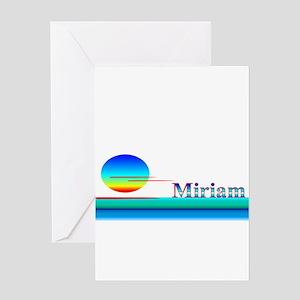 Miriam Greeting Card