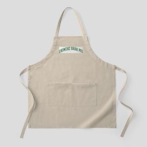 Chinese Shar Pei (green) BBQ Apron