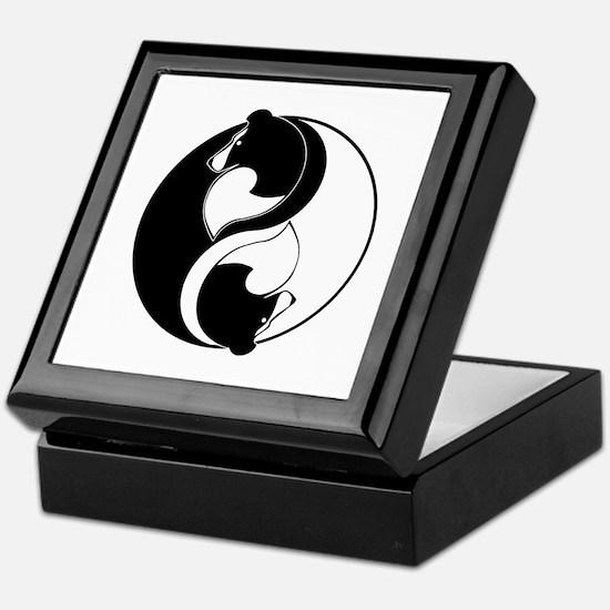 Sheltie Balance Keepsake Box