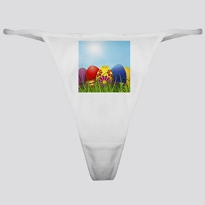 easter eggs Classic Thong