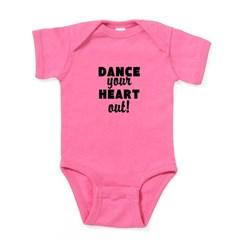 Dance your Heart out! Baby Bodysuit