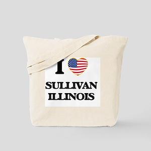 I love Sullivan Illinois Tote Bag