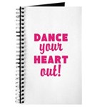 Dance your Heart out! Journal