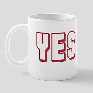 Yes O! Mug