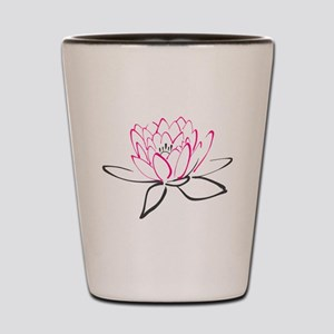 Lotus Flower Shot Glass