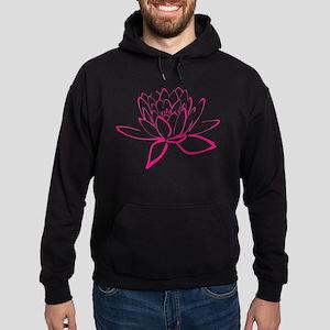 Lotus Flower Hoodie (dark)