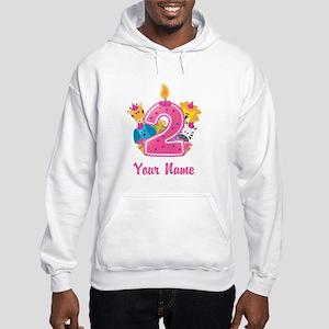 CUSTOM 2 years old Pink Hoodie