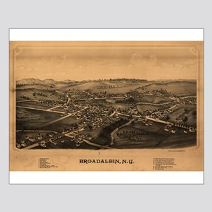 Broadalbin, New York. 1880. Small Poster
