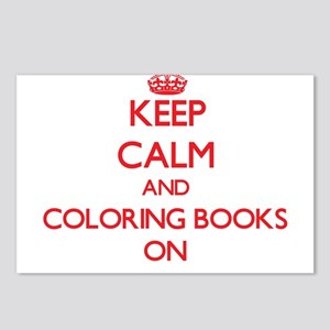 Keep Calm and Coloring Bo Postcards (Package of 8)