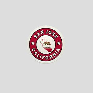 San Jose Mini Button