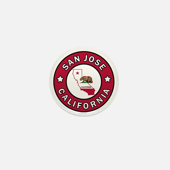 San Jose Mini Button