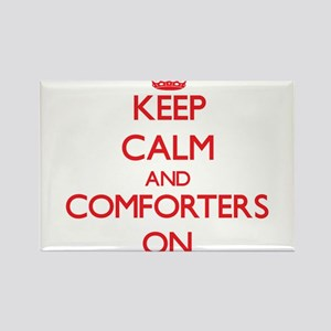 Keep Calm and Comforters ON Magnets