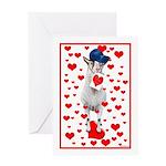 Goat Love Greeting Card