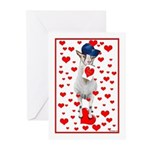 Goat Love Greeting Cards (Pk of 10)